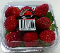 hermes strawberries punnet